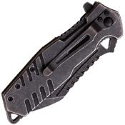 MTech USA Xtreme Ballistic Fine Serrated Folder Blade Knife