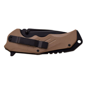 Mtech USA Xtreme G10 Handle With Gimped Back Spacer Folding Knife