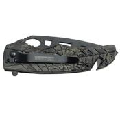 Tac-Force Green Camo Aluminum Handle Folding Knife