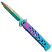 Tac-Force 4 Closed Plain Edge Folding Knife