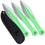 Z Hunter ZB-163 7.5 Inch Throwing Knife Set 3 Pcs