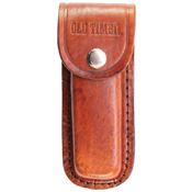 Schrade Mustang Brown With Sheath