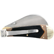 Old Timer 216OT Hawkbill Pruner TPE Handle Folding Blade Knife