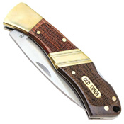 Schrade Old Timer 4.5 Inch Lockback Pocket Folding Knife