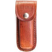 Schrade Big Timer Folding Lockback With Leather Sheath
