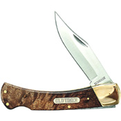 Smith and Wesson Old Timer Golden Bear Clip Point Folding Blade Knife