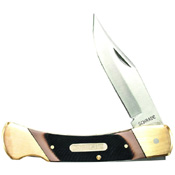 Schrade Cave Bear 5 Inches Closed With Leather Sheath