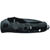 Schrade Mini Push Button Lock Fully Honed Folding Knife