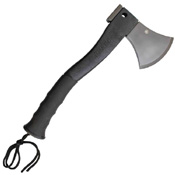 Schrade Stainless Steel With Fire Starter Rubber Handle Axe