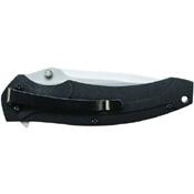 Schrade SCH217L Large Liner Lock Drop Point Folding Blade Knife