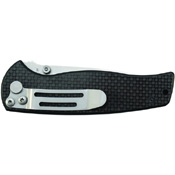 Schrade Liner Lock SCH403 Carbon Fiber Handle Folding Blade Knife