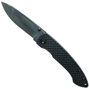 Schrade SCH407 Ceramic Blade ABS+TPR Handle Folding Knife