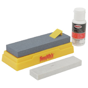 Smith's 2-Stone Sharpening Kit with Solution