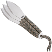 Sog Satin Finish Paracord Wrapped Throwing Knife