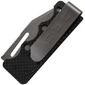 SOG Ultra C-Ti Plain Edge Folding Knife