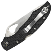 Spyderco Cara Cara2 Lightweight Black FRN Plain Edge