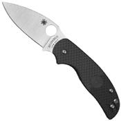 Spyderco Sage 5 Plain Edge Blade Folding Knife