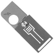 Spyderco Squarehead Stonewash Titanium Folder