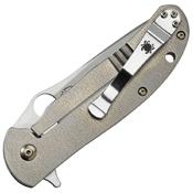 Spyderco Advocate Bradley Folding Knife