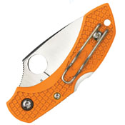 Spyderco Dragonfly 2 Lightweight Burnt Orange Folding Knife