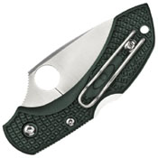 Spyderco Dragonfly2 Brithish Racing Green FRN ZDP-189 Plain Edge Folding Knife