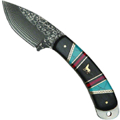 United Cutlery Frontier Skinner Damascus Hunting Knife