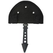 United Cutlery Black Ronin Fantasy Gothic Throwing Axe - Black
