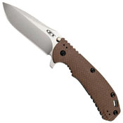 ZT Hinderer Dark Earth Scale 3.75 Inches Folding Knife